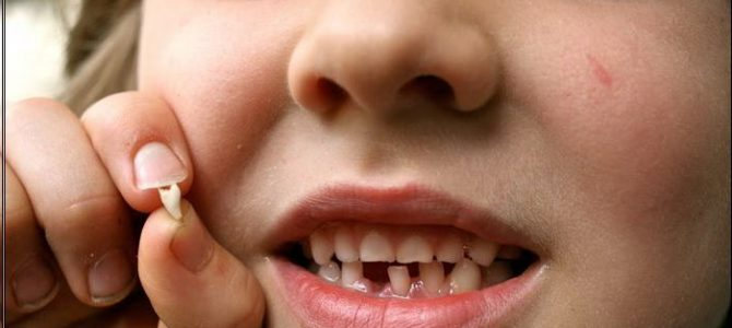 سیستم دندانی کودکان
