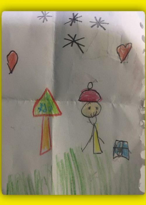 نقاشی کودکان در دندانپزشکی تخصصی کودکان در کرج